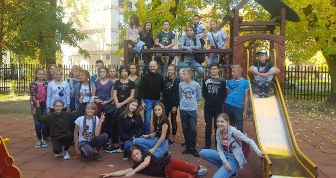 Międzyszkolna wymiana z Ukrainą